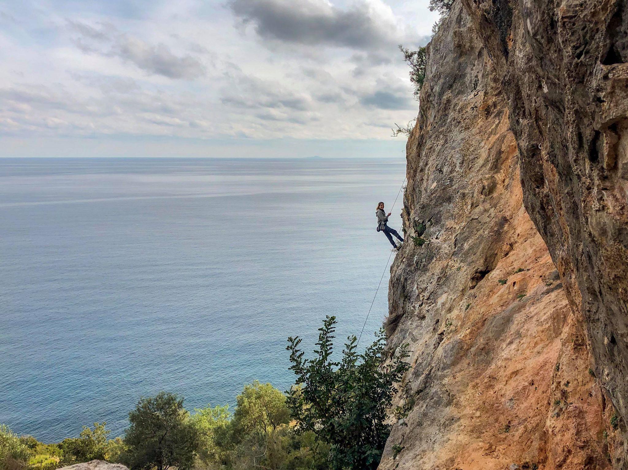 Nima klettern Leonidio - Nima Ashoff
